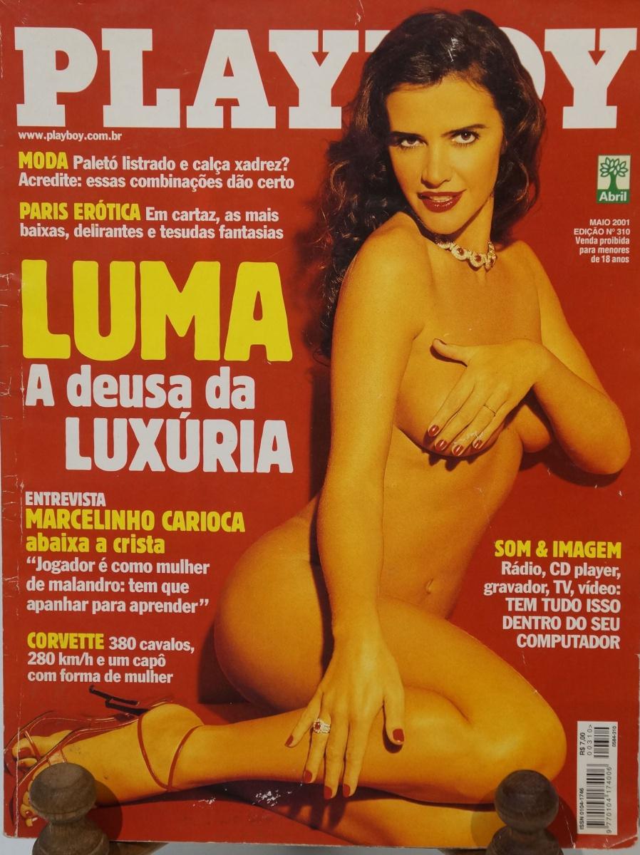 REVISTA PLAYBOY Luma de Oliveira, entrevista com Marce