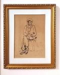 Clovis Graciano (Araras/SP, 1907 - São Paulo/SP, 1988). NO. 4 - EX. 91 / SALTIMBANCOS. Sem data. Litografia. 31 x 22 cm. Assinado Graciano (cid)