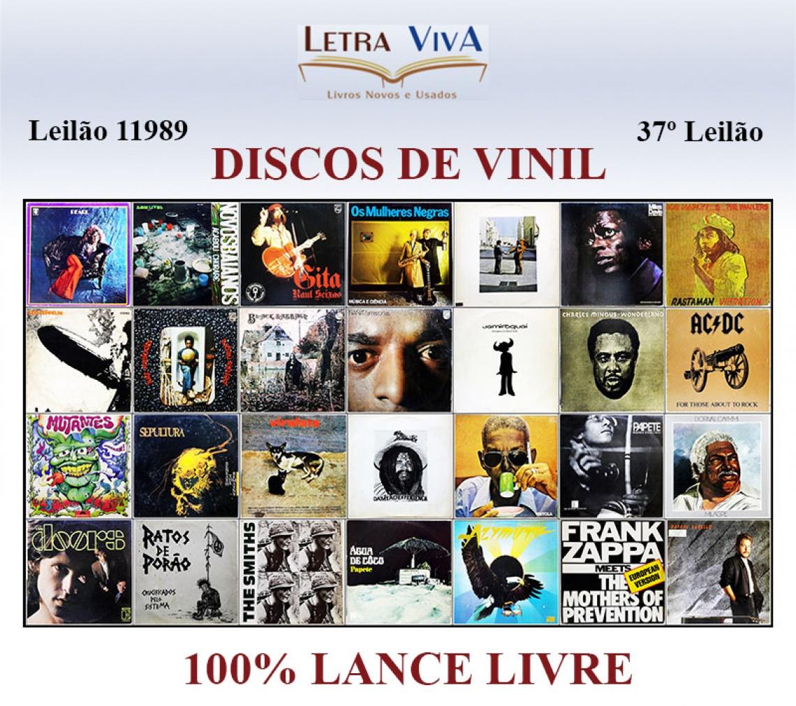 37º LEILÃO LETRA VIVA - DISCOS DE VINIL