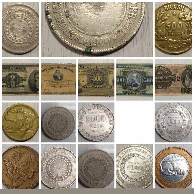 16º - LEILÃO Numismart - Cédulas, Moedas, Medalha, tokéns entre outras