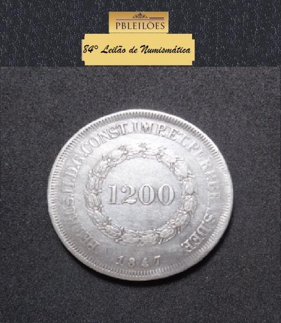 84º Leilão de Numismática Pbleilões