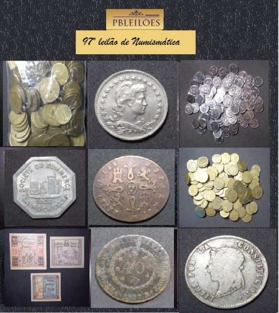 97º Leilão de Numismática Pbleilões
