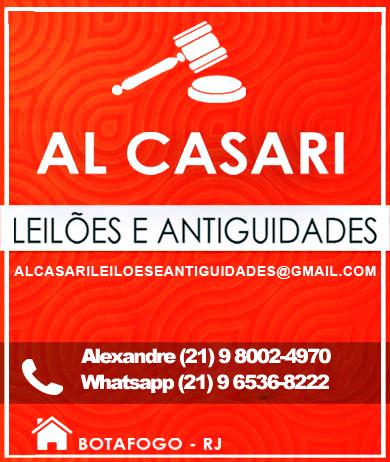 LEILÃO AL CASARI DE ARTE E ANTIGUIDADES JULHO 2020