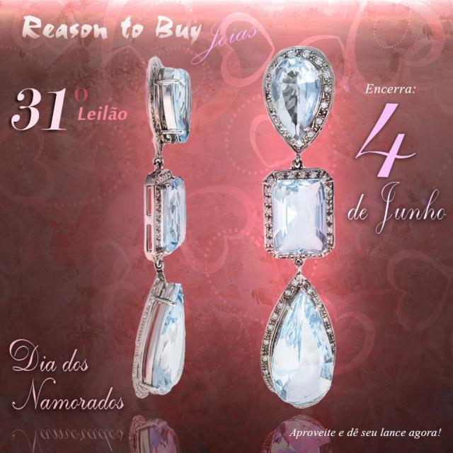 31º Leilão de Joias da Reason to Buy Joalheria (Dia dos Namorados)