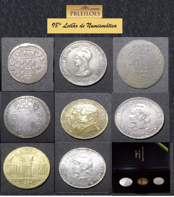 98º Leilão de Numismática