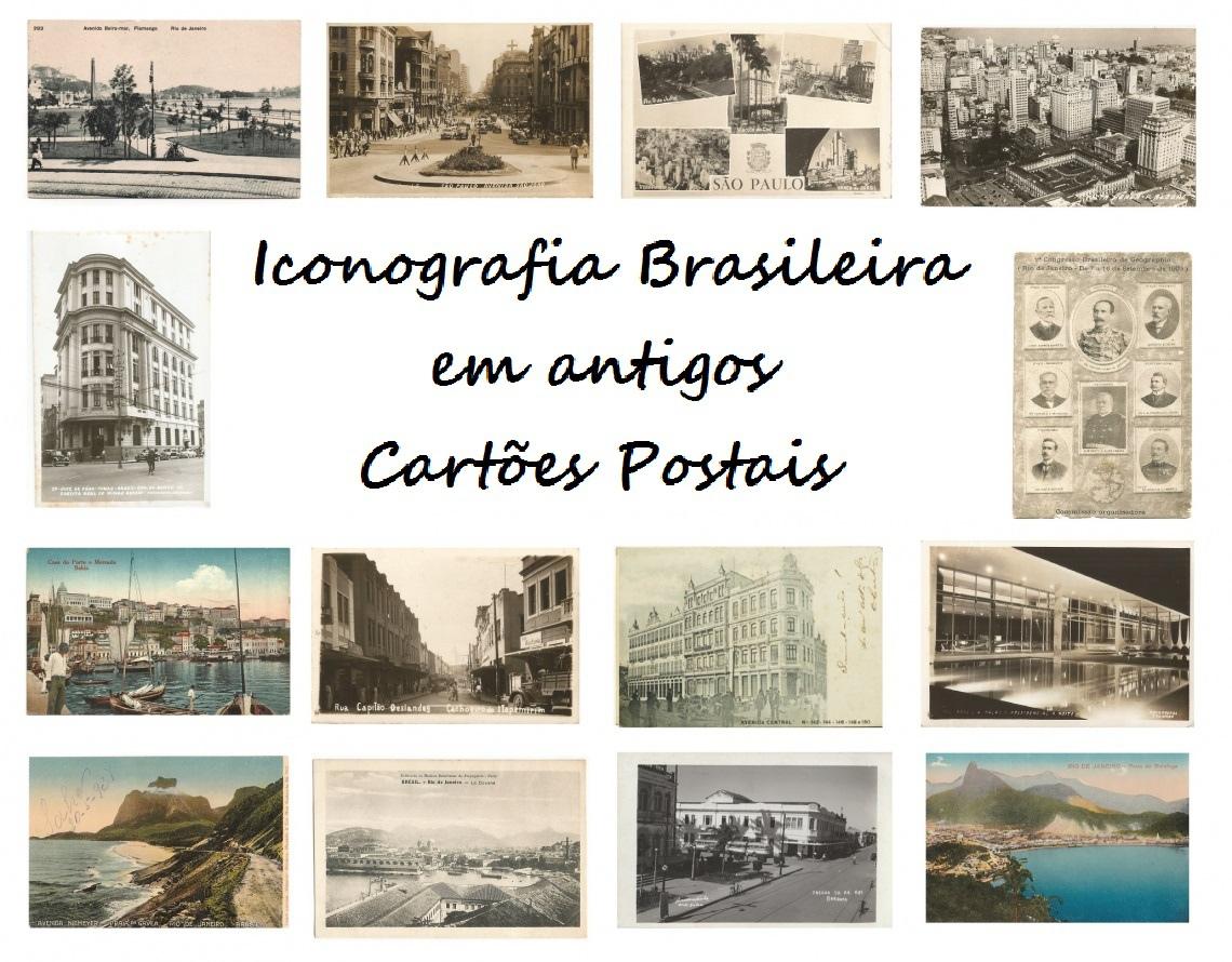 LEILÃO ICONOGRAFIA BRASILEIRA EM ANTIGOS CARTÕES POSTAIS