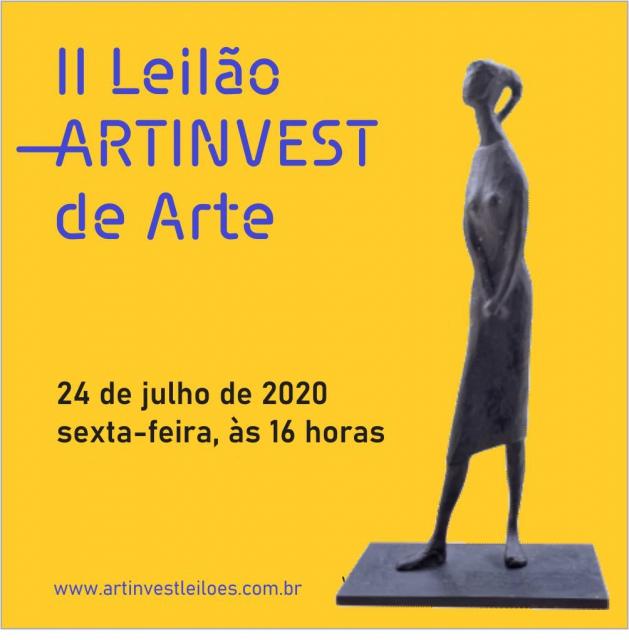 II LEILÃO ARTINVEST DE ARTE