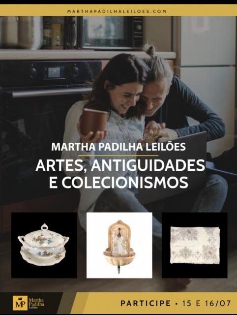 MARTHA PADILHA LEILÕES - ARTES, ANTIGUIDADES E COLECIONISMOS