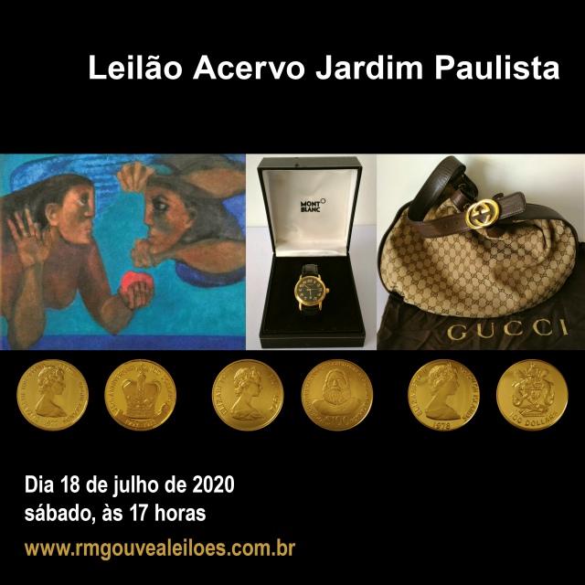 Leilão Acervo Jardim Paulista - 18/07/2020 - 17h00