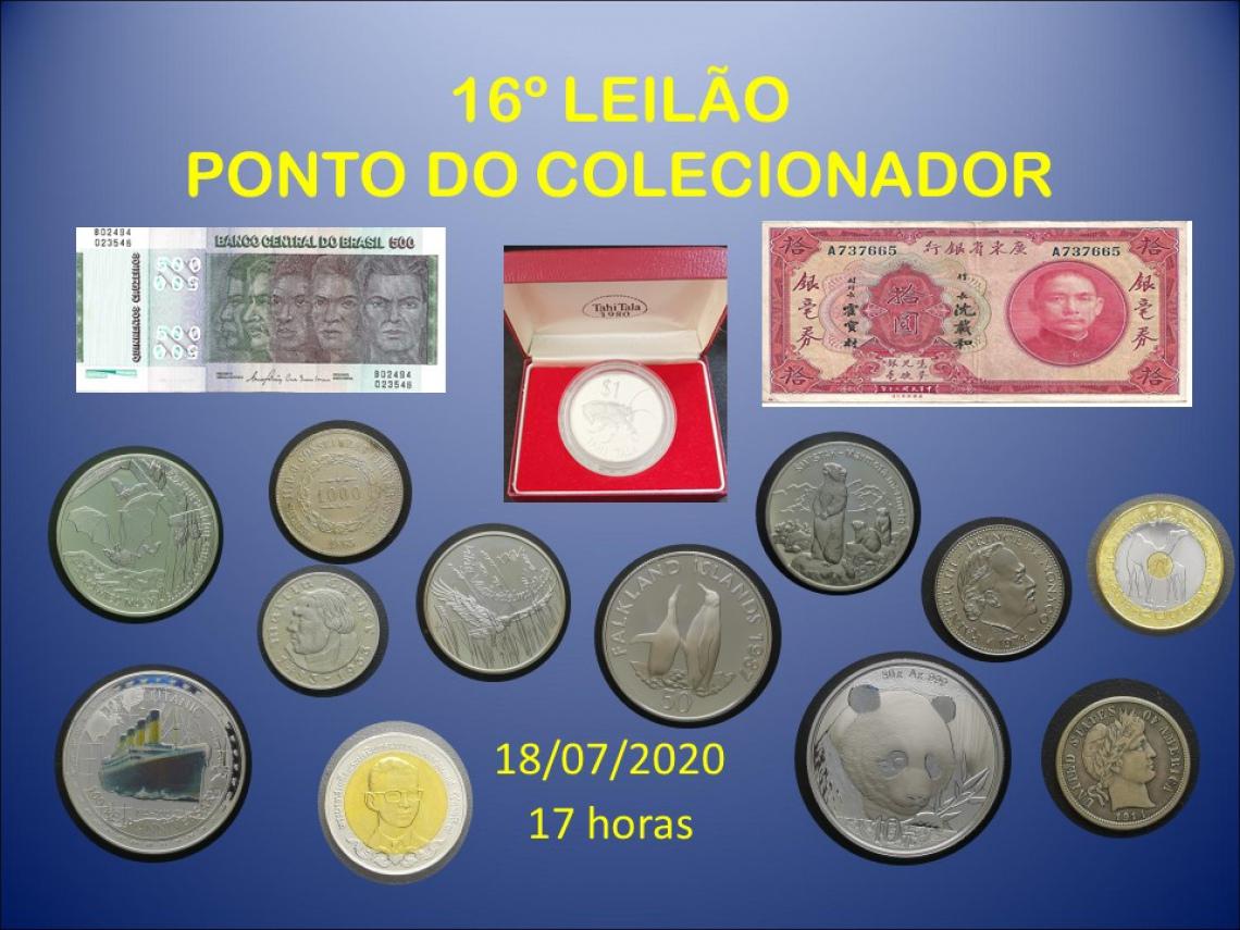 16º LEILÃO PONTO DO COLECIONADOR