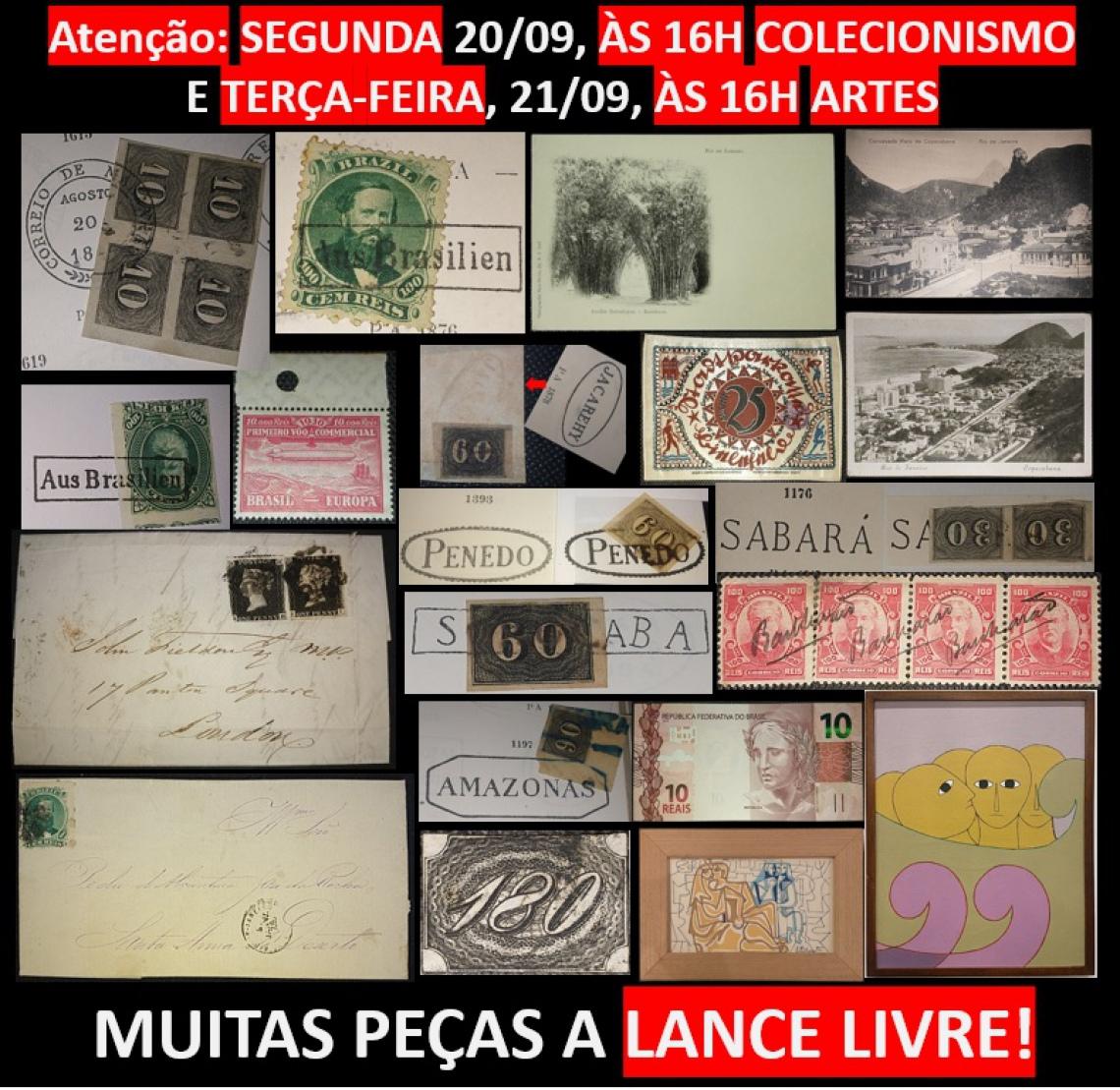 LEILÃO DE ARTES E COLECIONISMO DO EMPÓRIO DAS ARTES