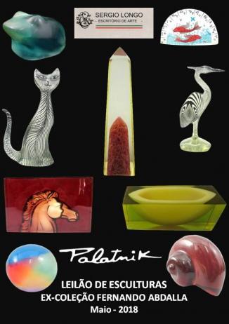 PALATNIK - LEILÃO DE ESCULTURAS (Ex-Coleção Fernando Abdalla)